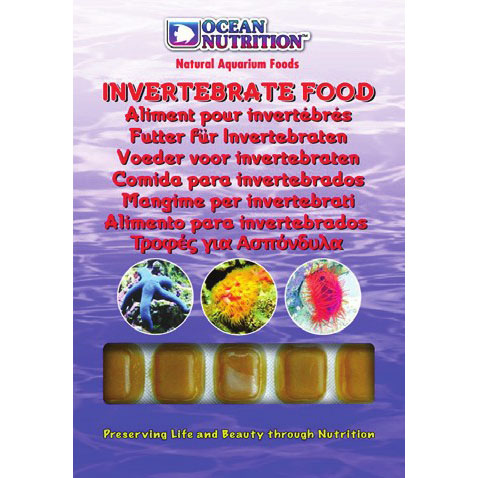 Invertebrate Food (Invertebrates Only)