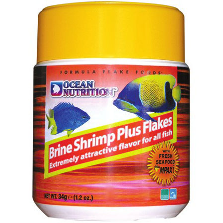 Brine Shrimp Plus Flake (Marines or Freshwater)