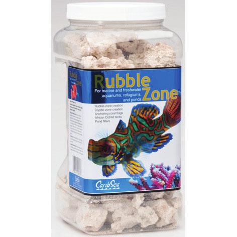 Rubble Zone Aragonitic Rubble